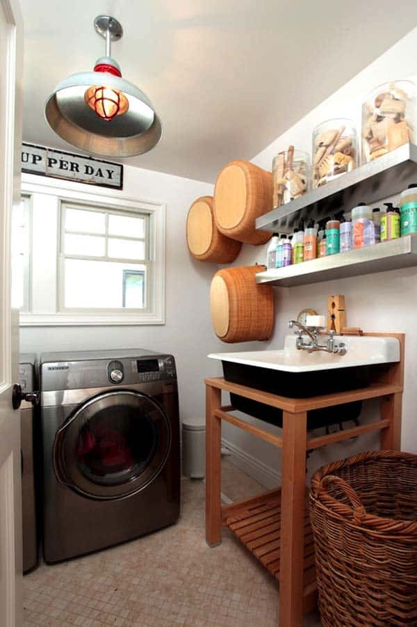 Small Laundry Room Design Ideas-19-1 Kindesign