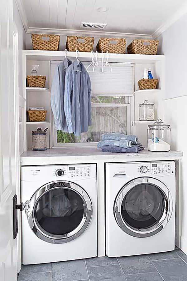 Small Laundry Room Design Ideas-28-1 Kindesign