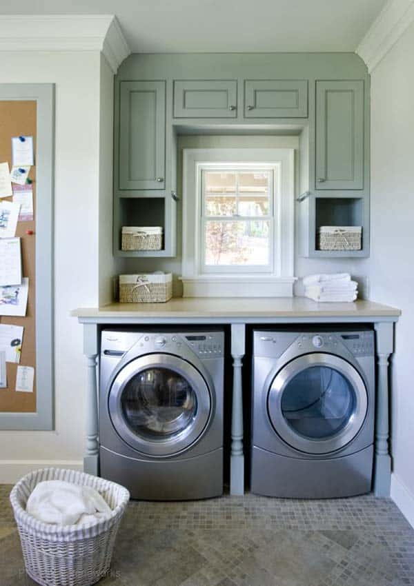Small Laundry Room Design Ideas-32-1 Kindesign