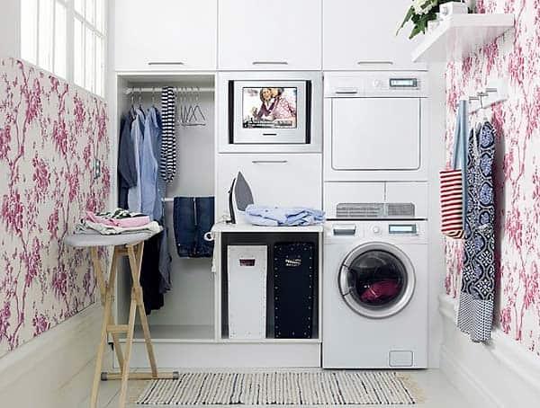 Small Laundry Room Design Ideas-41-1 Kindesign