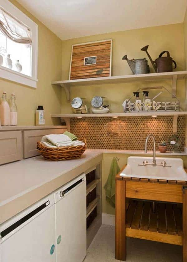 Small Laundry Room Design Ideas-60-1 Kindesign