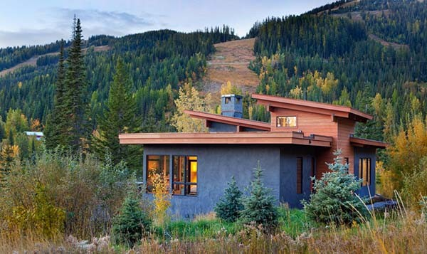 fabulous rustic-contemporary mountain