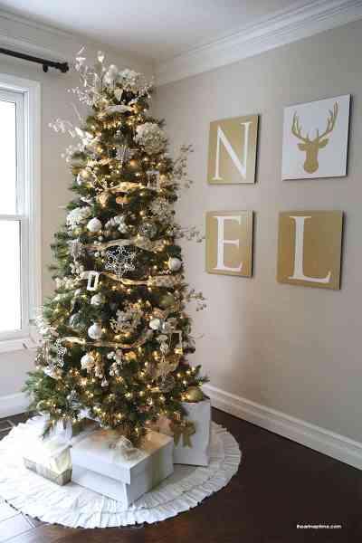 christmas decoration 41 Most fabulous Christmas tree decoration ideas