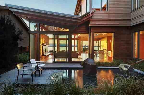 Puget Sound Waterfront Modern Home