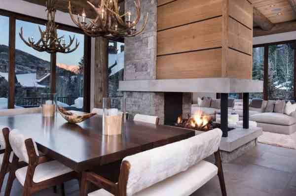 Contemporary Reinterpretation Of Traditional Chalet Ski Haus