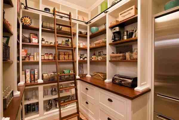 Kitchen Walk-In Pantry Design Ideas