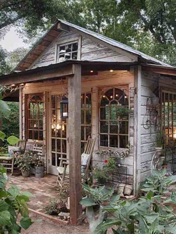 25+ Landscaping Ideas Backyard With Shed Pictures and Ideas