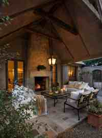 44 Traditional outdoor patio designs to capture your ...