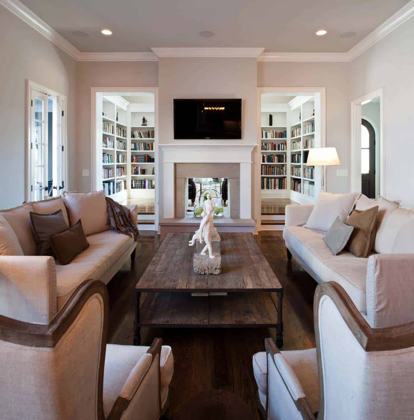 elegant living room decorating ideas floral chairs 38 rooms that are brilliantly designed 32 1 kindesign
