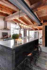 Luxury Canadian home reveals splendid rustic