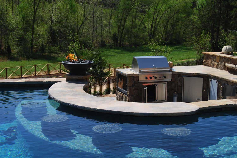 33 MegaImpressive swimup pool bars built for entertaining