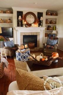 Fall Home Decor Living Room Ideas