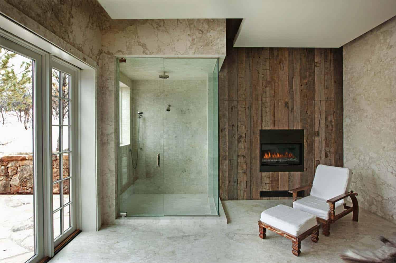Modern Rustic Mountain Retreat Showcases Fusion Luxury In