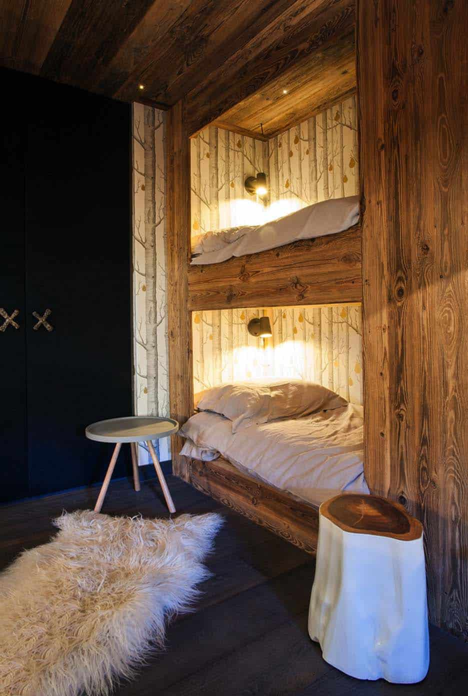 Rustic Chic Luxury Mountain Chalet In Megve France