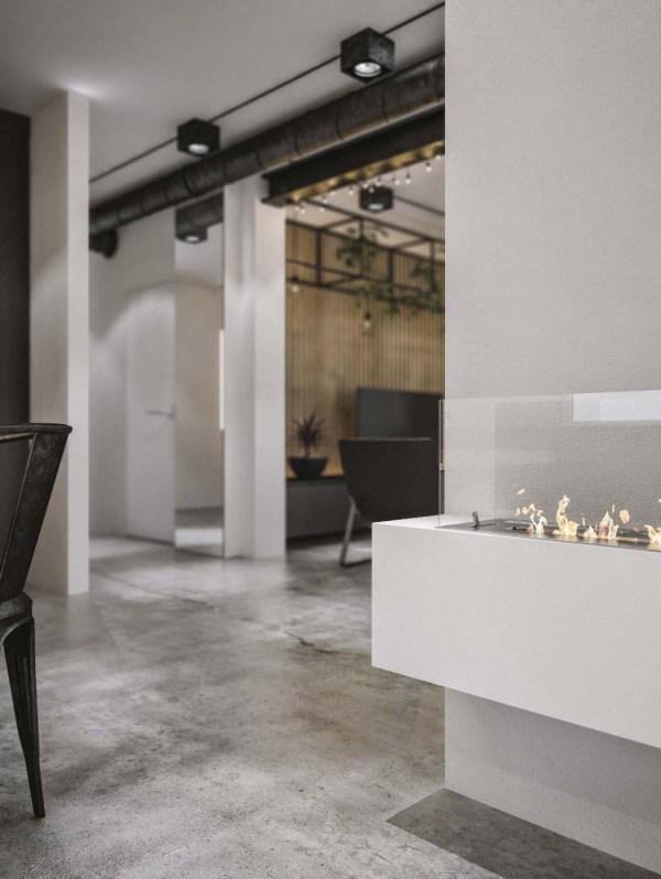 Modern Industrial Loft Designs