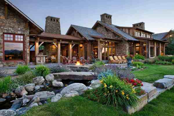 rustic family compound