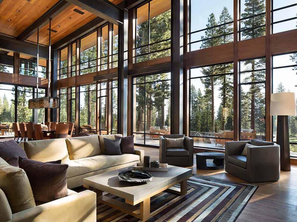Fabulous mountain modern retreat in the High Sierras