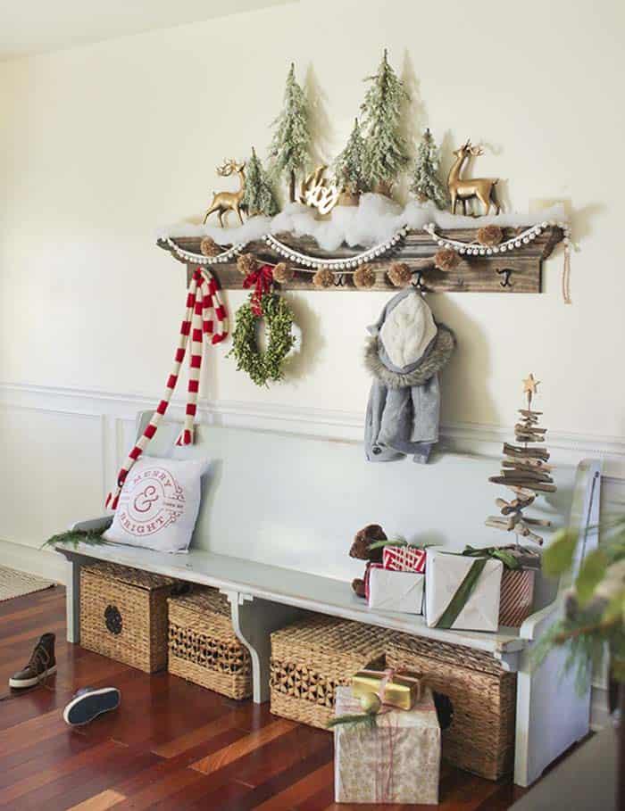 40 Fabulous RusticCountry Christmas Decorating Ideas
