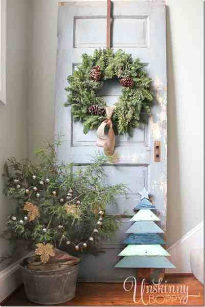 christmas decoration 40+ Fabulous Rustic-Country Christmas Decorating Ideas