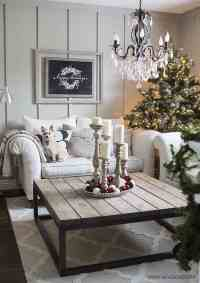 30+ Fabulous Christmas decorated living rooms to inspire