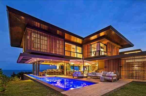 Modern Tropical Style Home Nestled Dolphin Coast