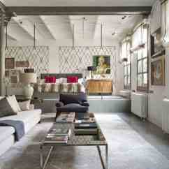 New York Loft Style Living Room Modern Interior Design 2018 Industrial In With Cozy Interiors