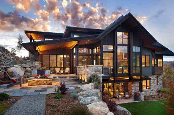 Mountain Modern Architecture Home Design