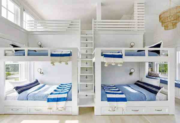 Nautical Bunk Bed Room