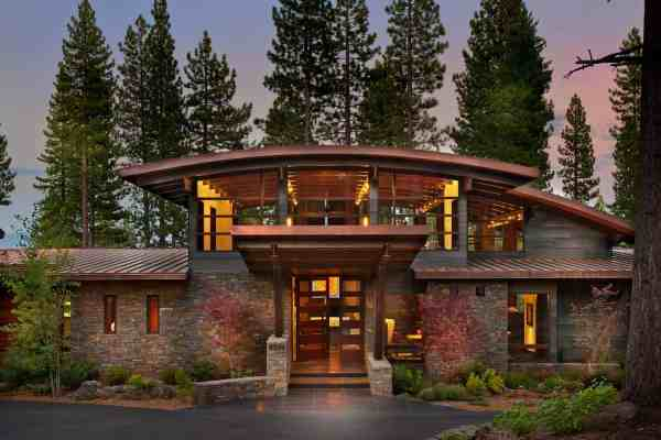 Spectacular Modern Mountain Style Dwelling In Martis Camp