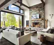 Rustic Modern Home Interior Design