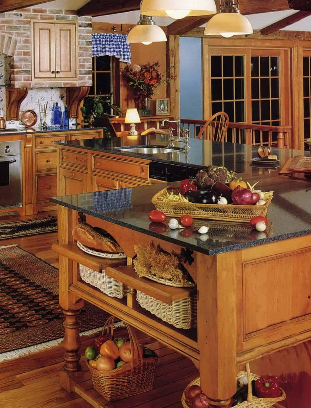 kitchen cabinets louisville full circle brush 33 amazing country-chic kitchens brimming with character