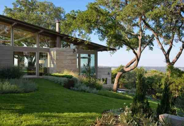 hillside dwelling in texas
