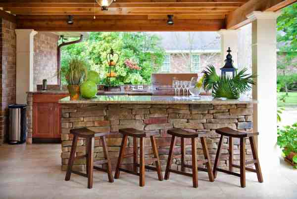 outdoor bar ideas 20+ Spectacular outdoor kitchens with bars for entertaining