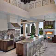 Photos Of Outdoor Kitchens And Bars Black Kitchen Hutch 20 43 Spectacular With For Entertaining