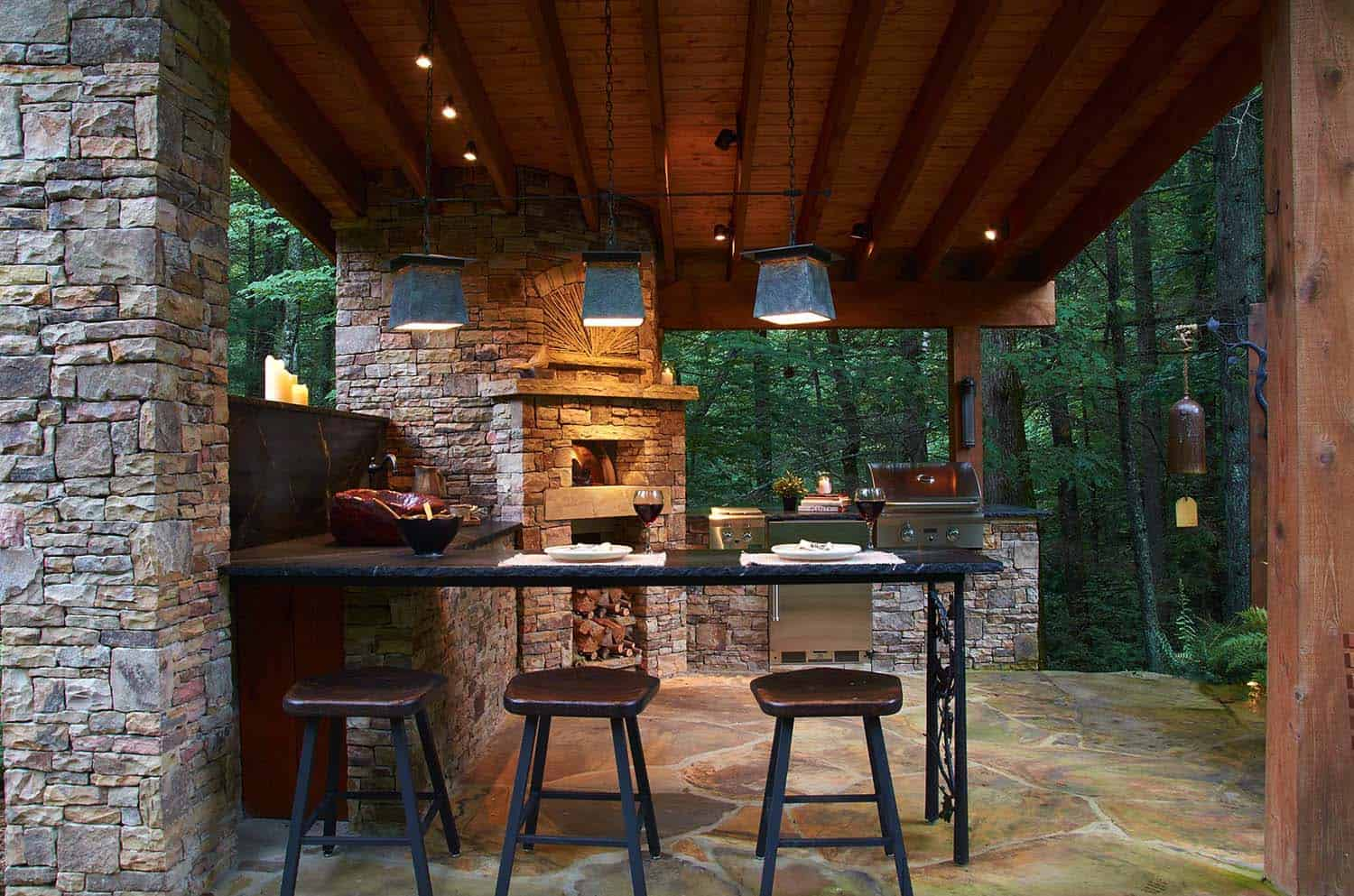 photos of outdoor kitchens and bars affordable 20 43 spectacular with for entertaining