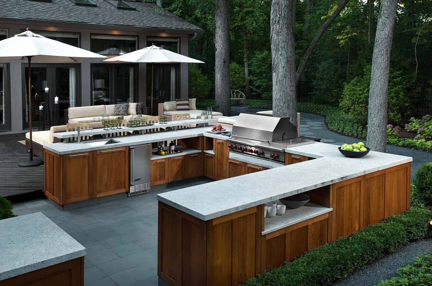 photos of outdoor kitchens and bars lowes white kitchen sink 20 43 spectacular with for entertaining