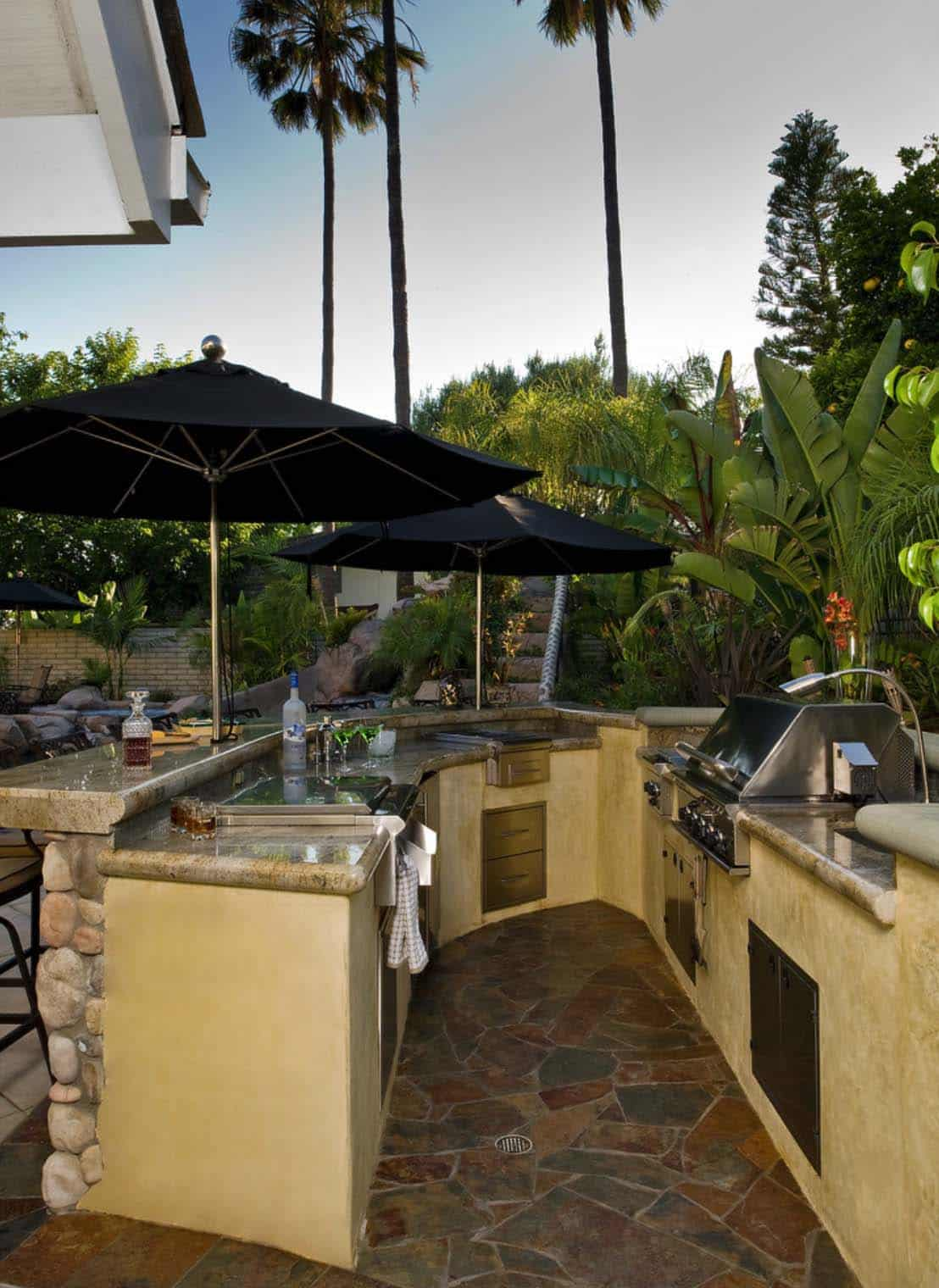 photos of outdoor kitchens and bars kitchen corner cabinet ideas 20 43 spectacular with for entertaining