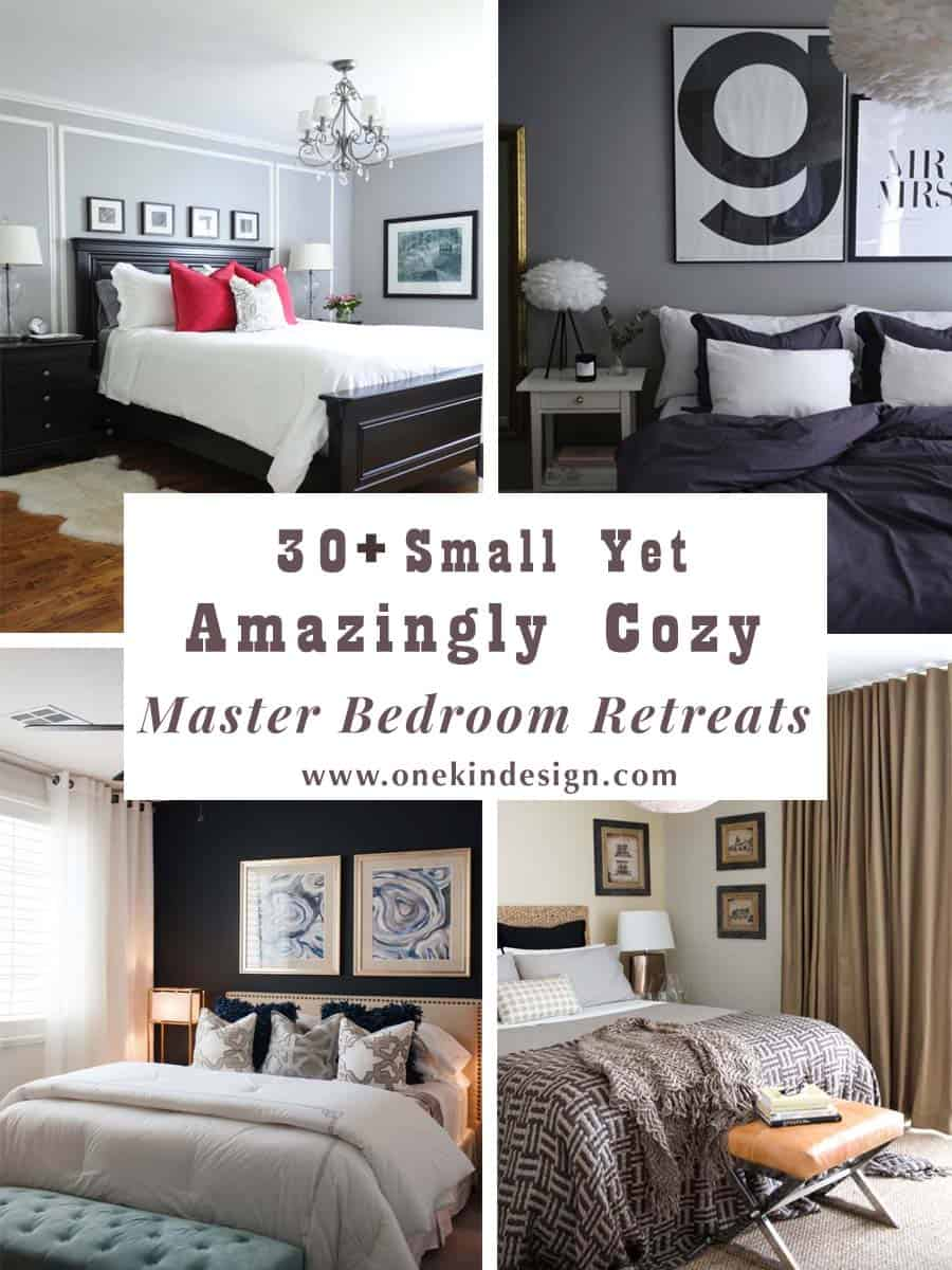 30+ Small Yet Amazingly Cozy Master Bedroom Retreats