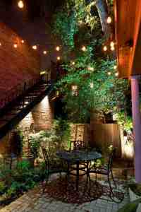 25 Very inspiring string light ideas for magical outdoor ...