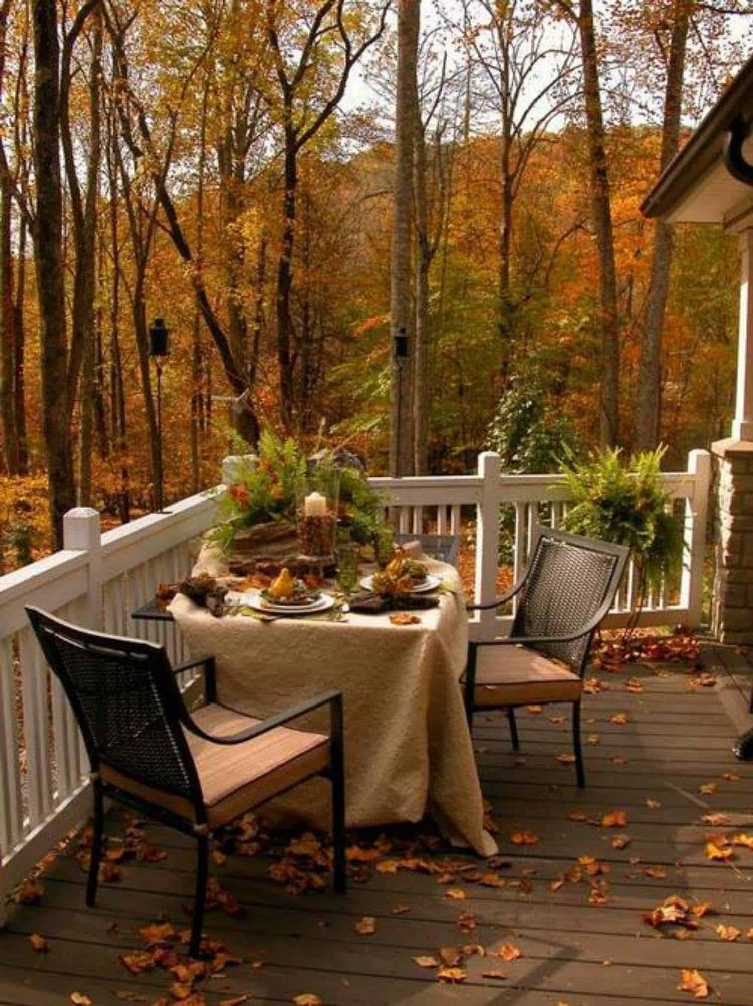 25 Fallinspired outdoor living spaces that are ultracozy
