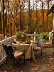 Fall-inspired Outdoor Living Spaces Ultra-cozy