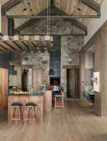 Breathtaking Mountain Modern Home Deep In Montana Forest