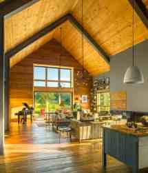 Modern Barn House Interior