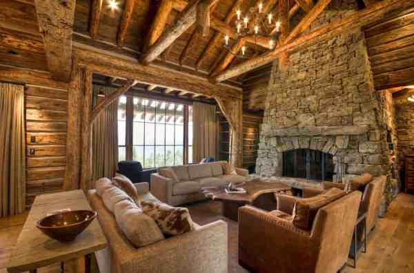 Rustic Mountain Home Interior Design