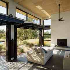 Wine Country Living Room Paint Colors Walls Impressive Retreat Embraces The Outdoors In California Sonoma Residence Feldman Architecture 05 1 Kindesign