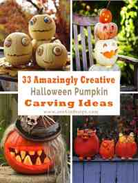 33 Amazingly creative Halloween pumpkin carving ideas