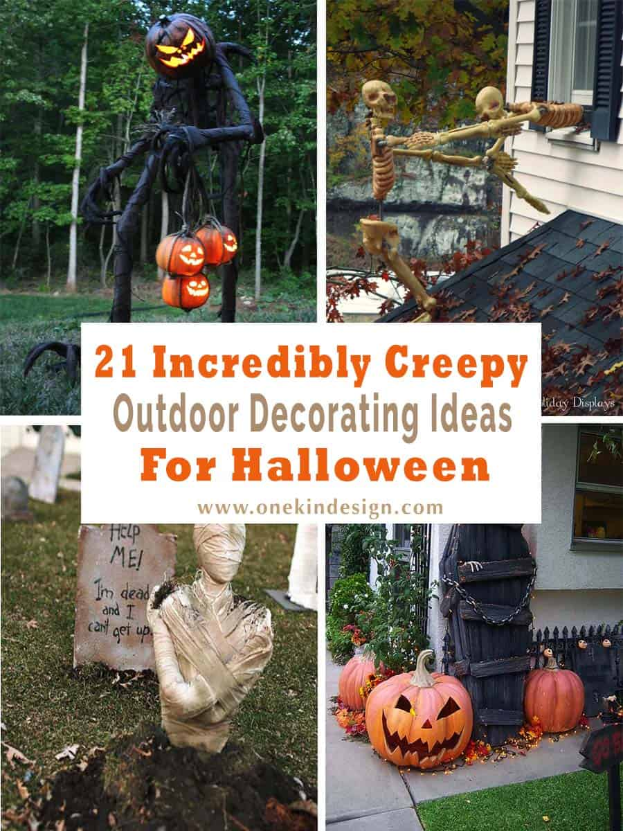 21 Incredibly Creepy Outdoor Decorating Ideas For Halloween