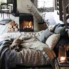 Bedroom Decorating Ideas In Living Room Ashley Leather Furniture 33 Ultra Cozy For Winter Warmth 20 1 Kindesign