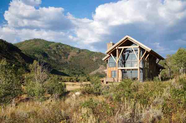 Rustic Eco-friendly Home Perched Elkins
