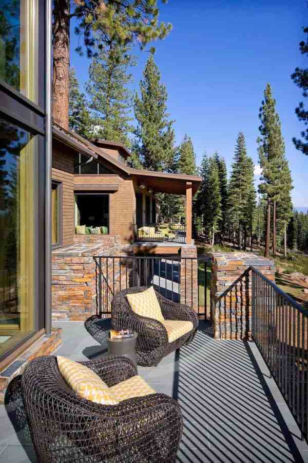 Mountainside Retreat Perched Forested Property In